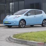 nissan leaf półprofil 150x150 Test: Nissan Leaf   recepta na smog?
