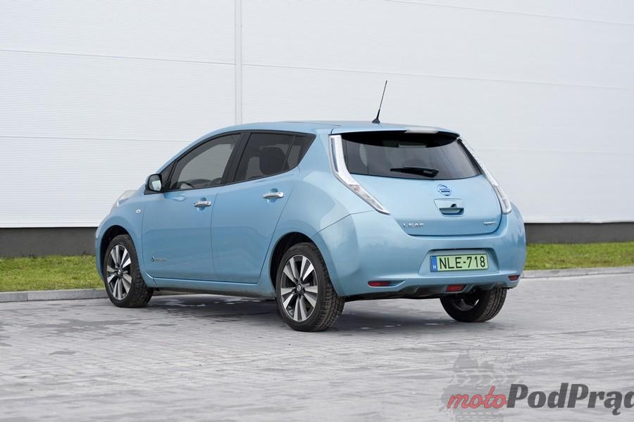 nissan leaf tył Test: Nissan Leaf   recepta na smog?