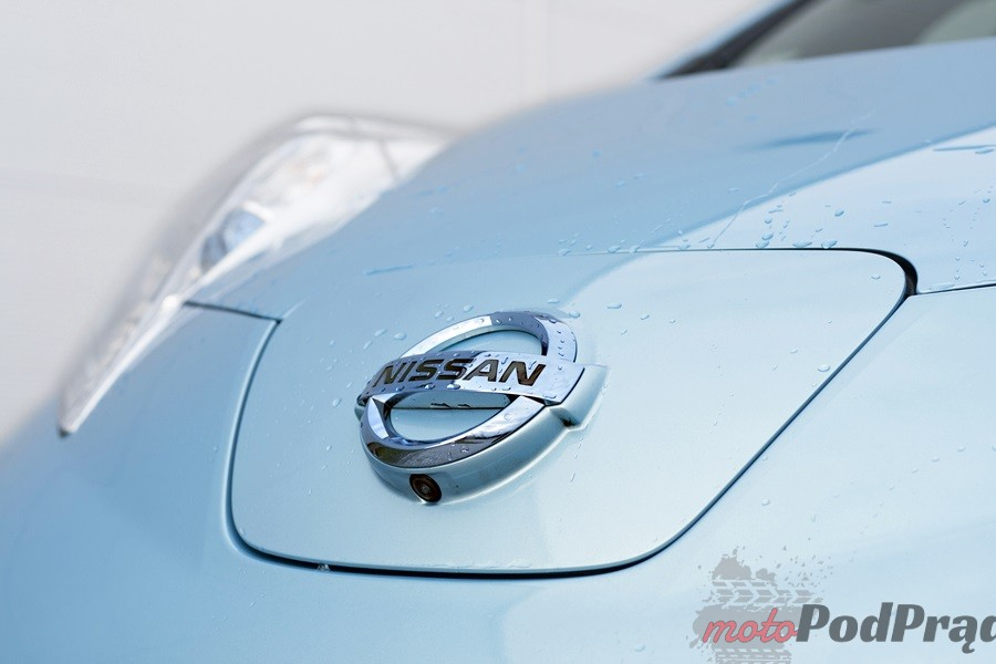 nissan leaf znaczek Test: Nissan Leaf   recepta na smog?