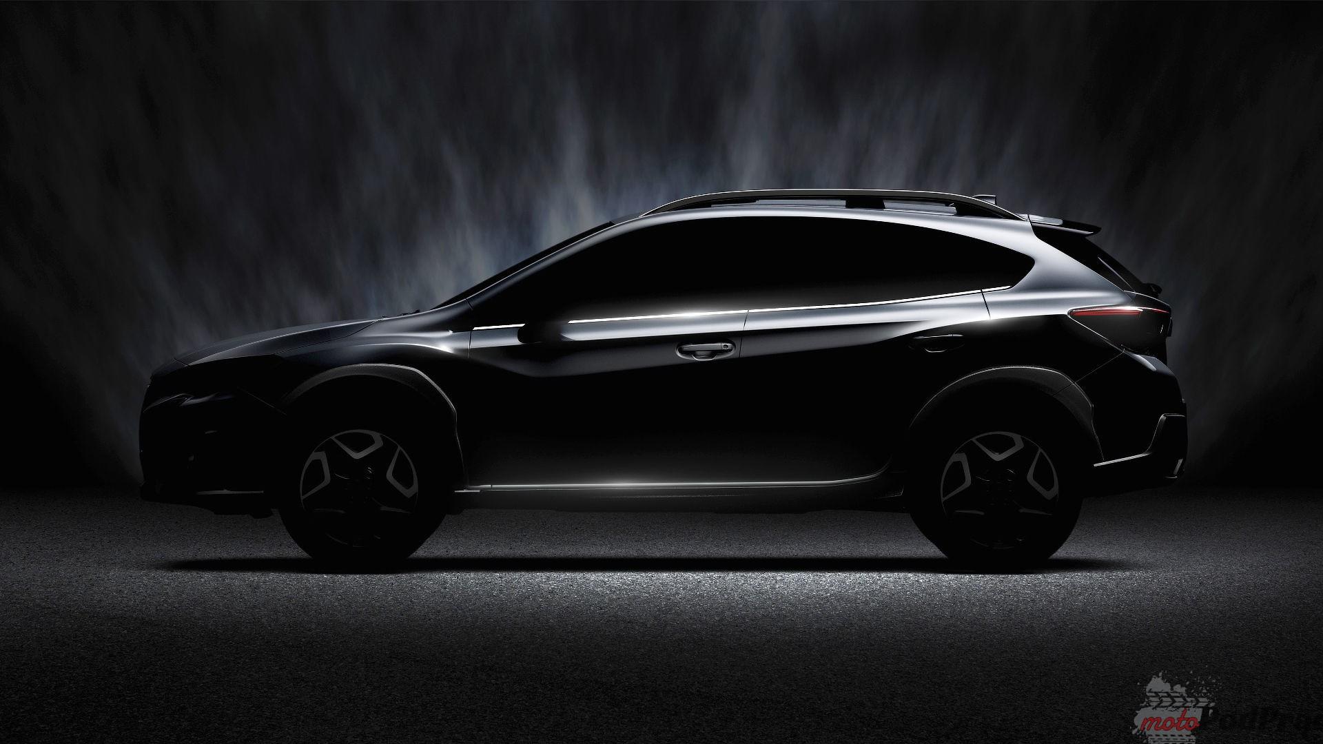 subaru crosstrek teaser Następca Subaru XV w drodze