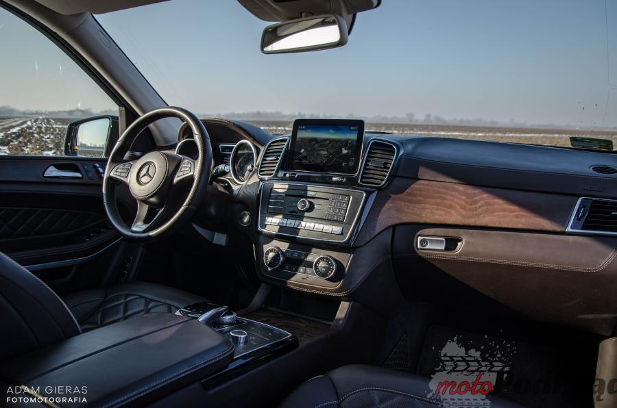 GLS500 13 Test: Mercedes GLS 500 – bestia z piekła rodem