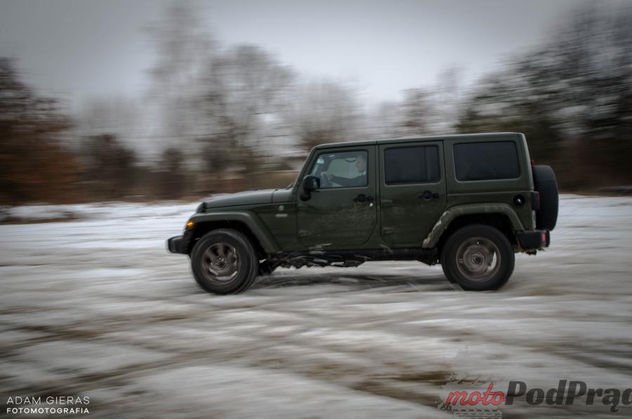 Jeep Wrangler 31 Test: Wrangler i nie chodzi o jeansy