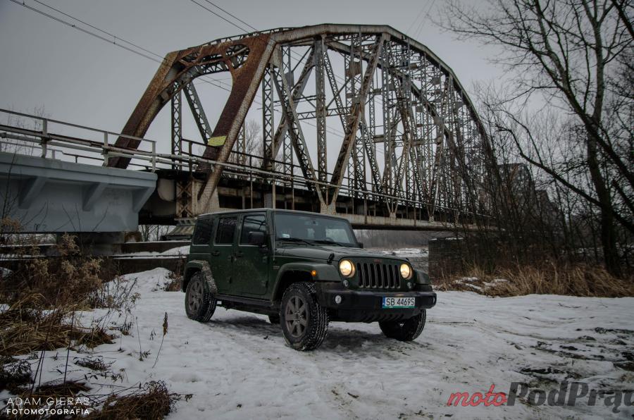 Jeep Wrangler 35 Test: Wrangler i nie chodzi o jeansy