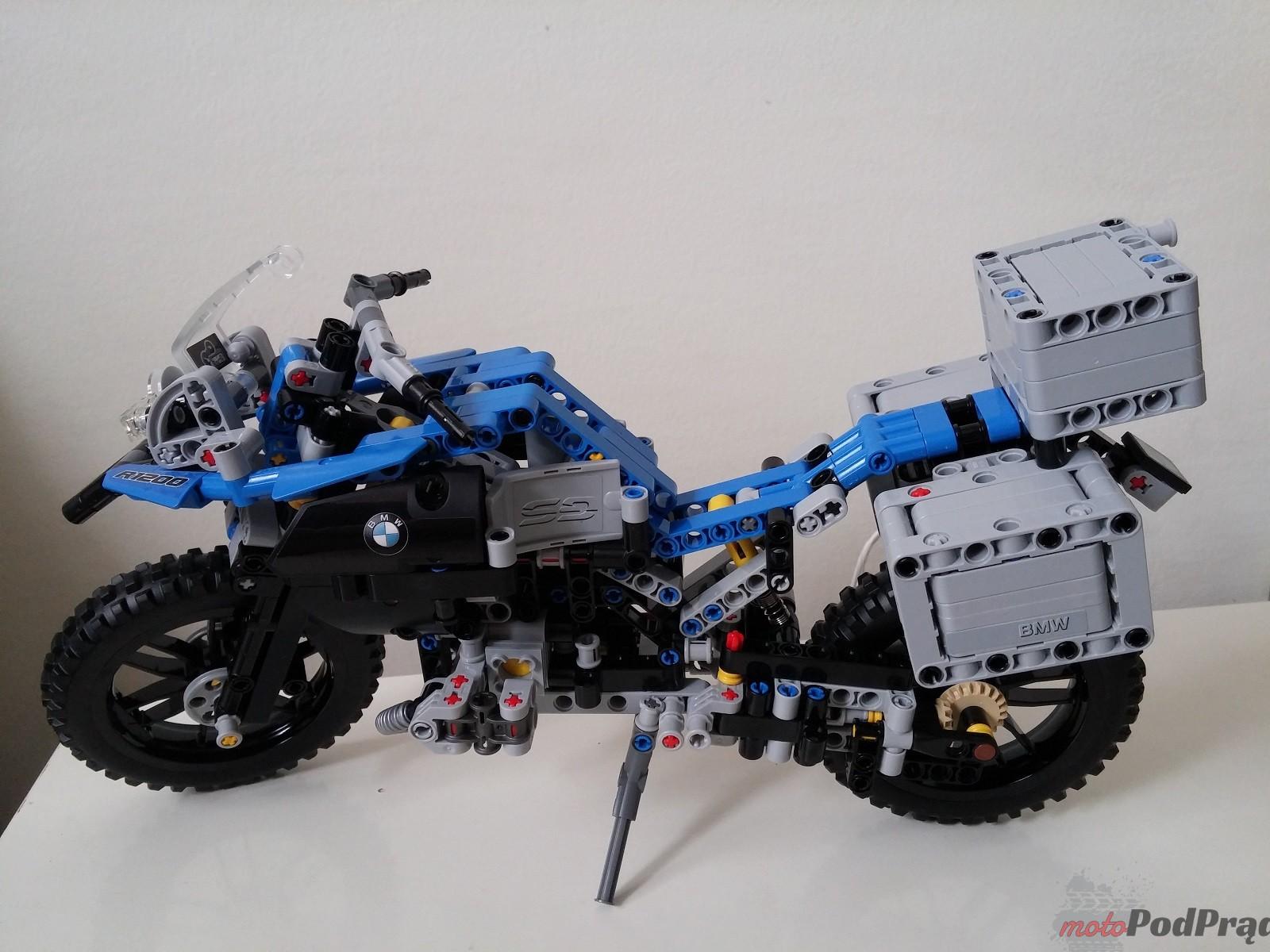 Lego Technic BMW GS 1200 R 11 LEGO Technic BMW R 1200 GS   być dzieckiem znów