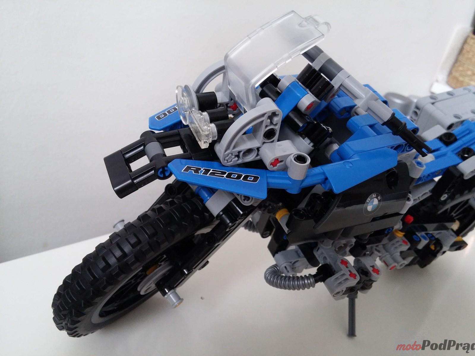 Lego Technic BMW GS 1200 R 12 [Wyniki] Konkurs LEGO Technic