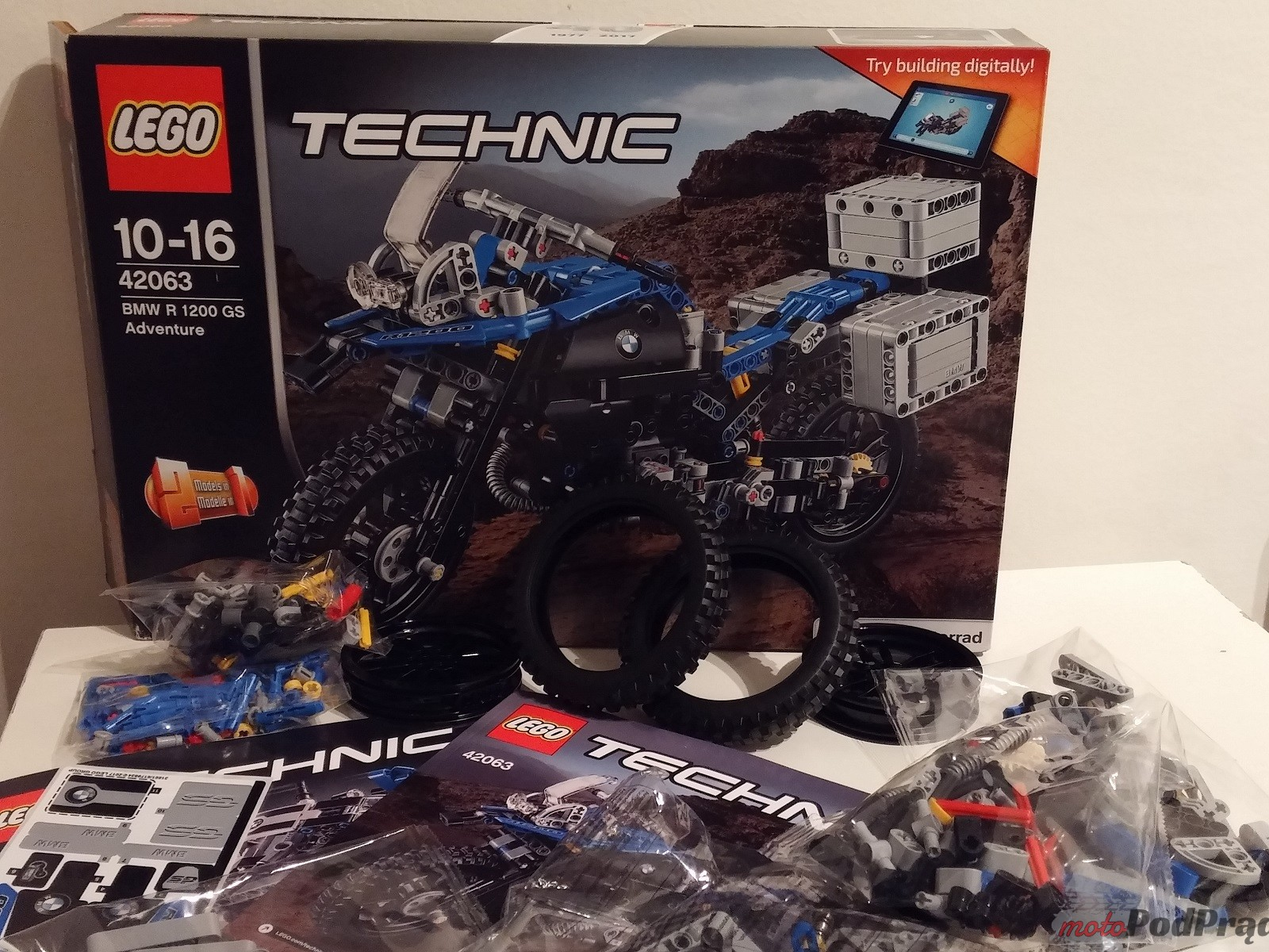 Lego Technic BMW GS 1200 R 5