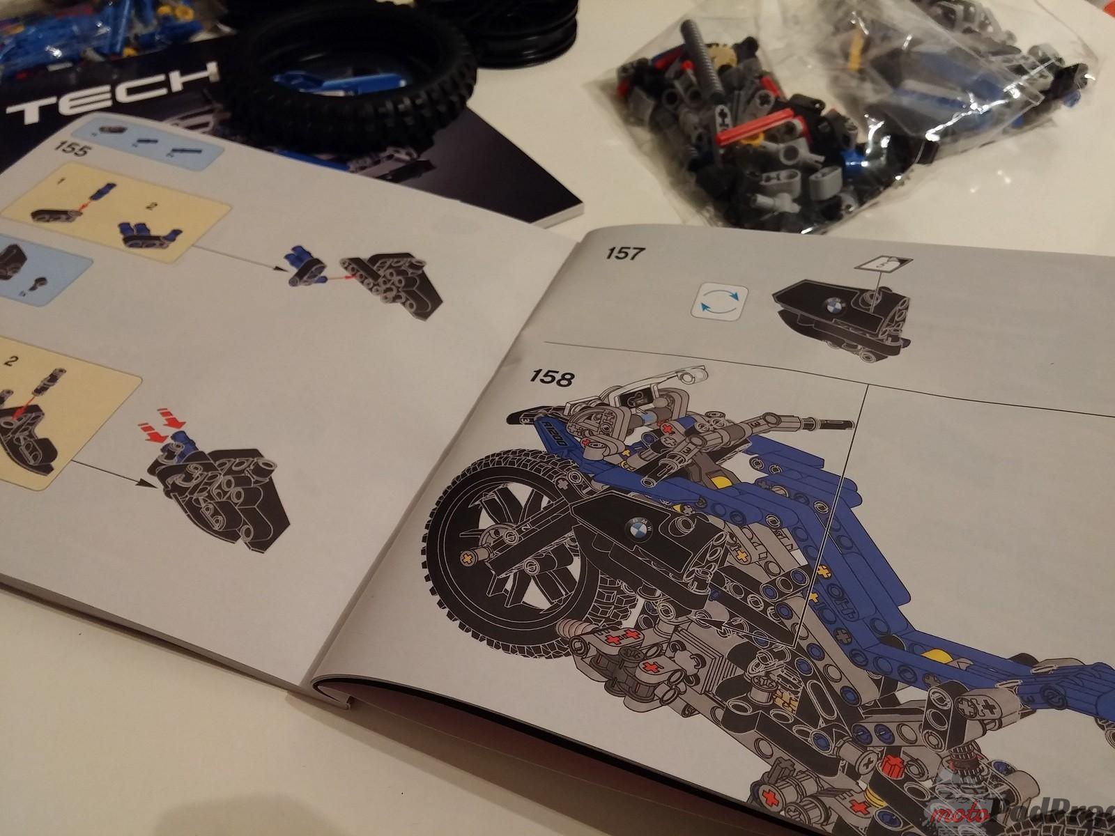 Lego Technic BMW GS 1200 R 8 LEGO Technic BMW R 1200 GS   być dzieckiem znów