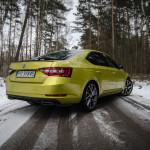 Superb 51 150x150 Test: Škoda Superb 2.0 TSI 280KM Sport Line   turbo pocisk łamiący schematy