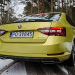 Superb 53 150x150 Test: Škoda Superb 2.0 TSI 280KM Sport Line   turbo pocisk łamiący schematy
