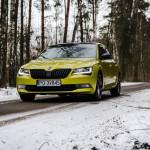 Superb 56 150x150 Test: Škoda Superb 2.0 TSI 280KM Sport Line   turbo pocisk łamiący schematy