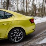 Superb 59 150x150 Test: Škoda Superb 2.0 TSI 280KM Sport Line   turbo pocisk łamiący schematy