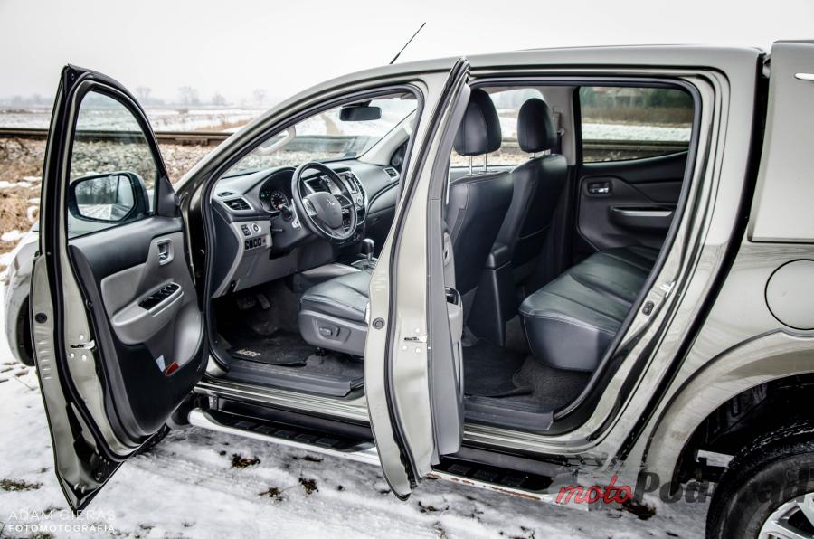 DSC 0013 Test: Mitsubishi L200 Premiere Edition   ten typ tak ma!