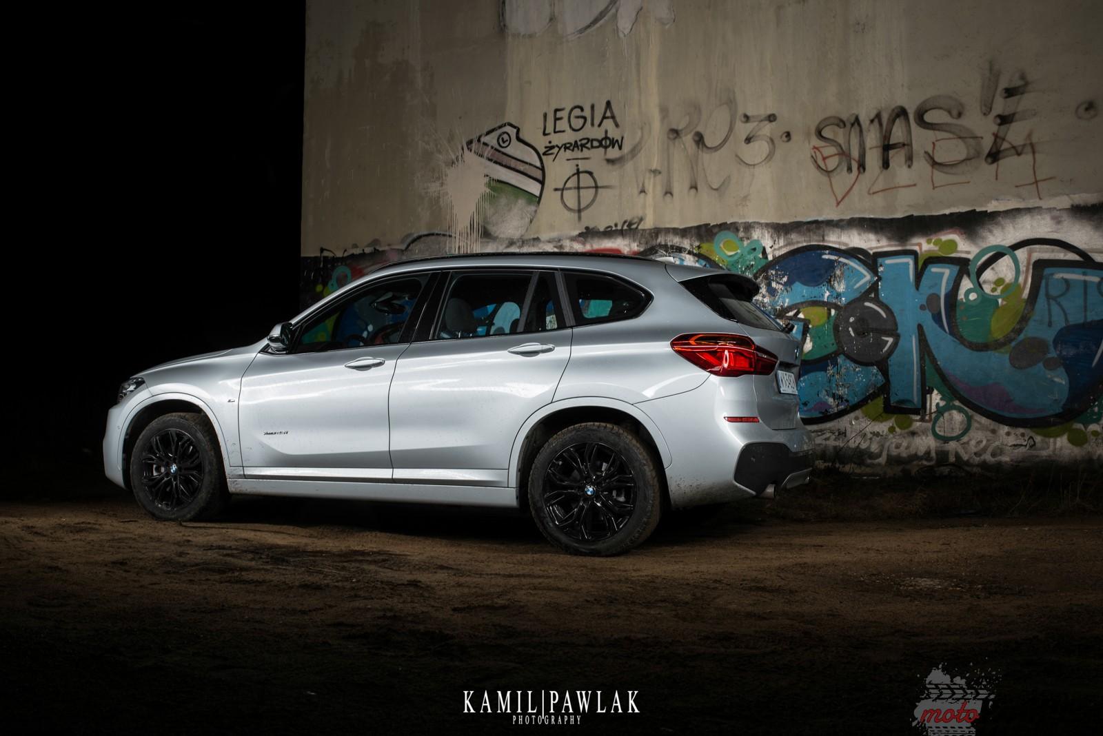 DSC 0695 Test:  BMW X1 Xdrive25i   w poszukiwaniu DNA