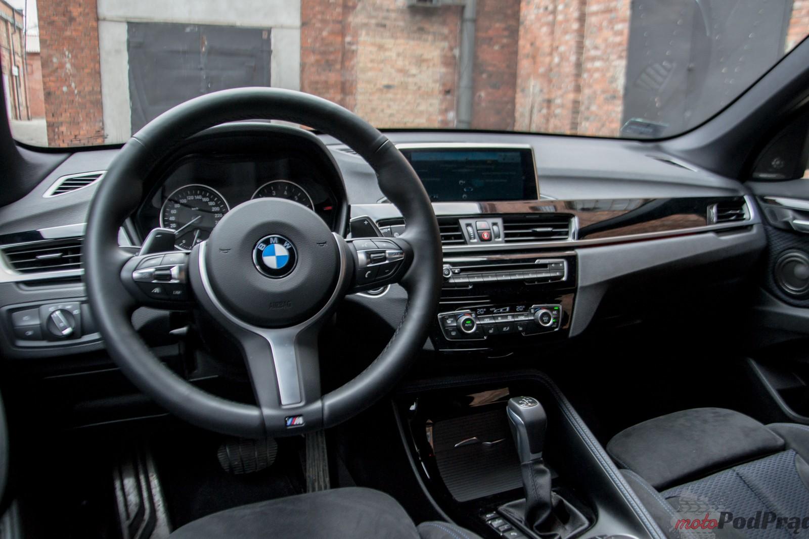 DSC 9029 Test:  BMW X1 Xdrive25i   w poszukiwaniu DNA