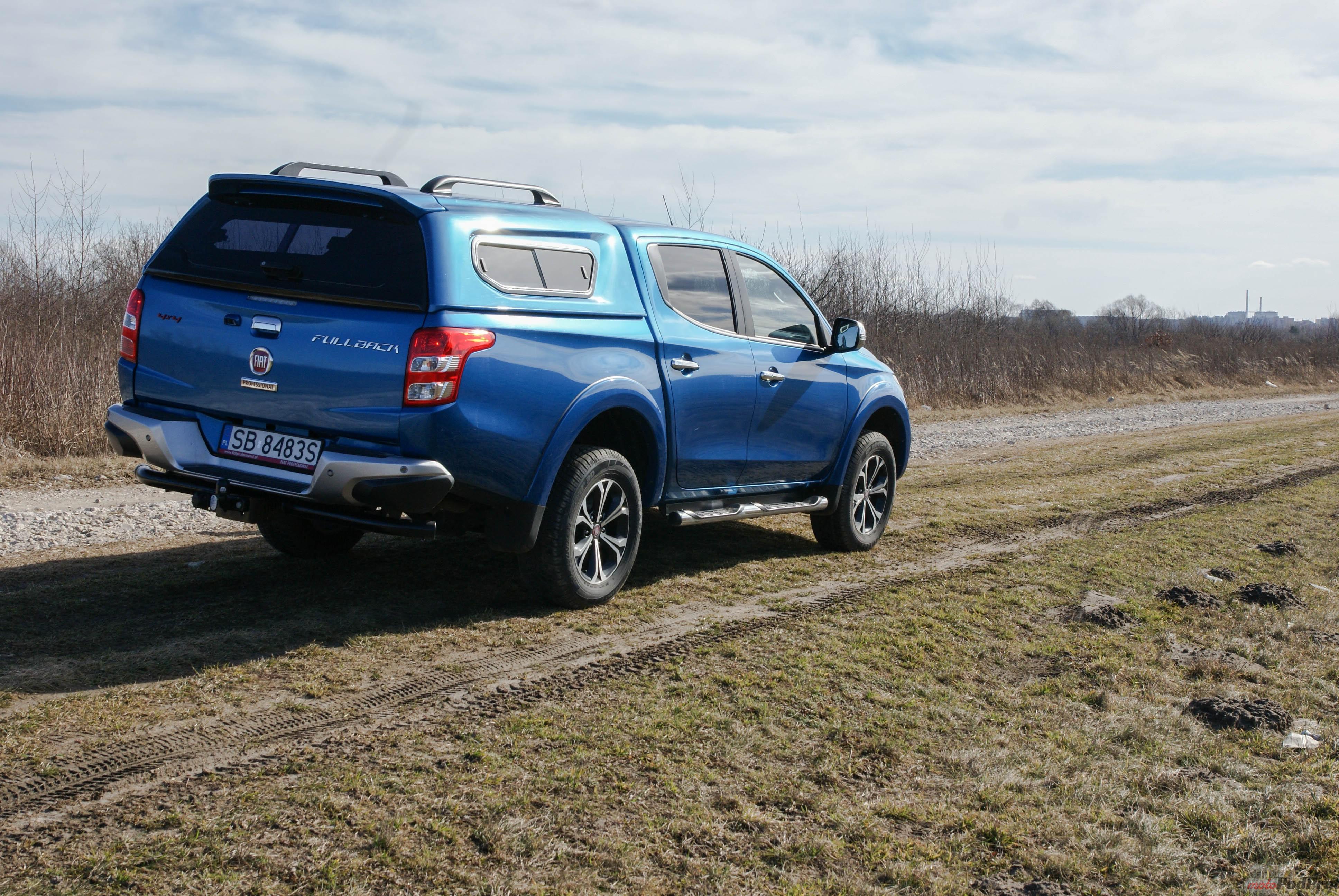 Fiat Fullback 7 Test Fiat Fullback 2,4 180 KM   włoska robota