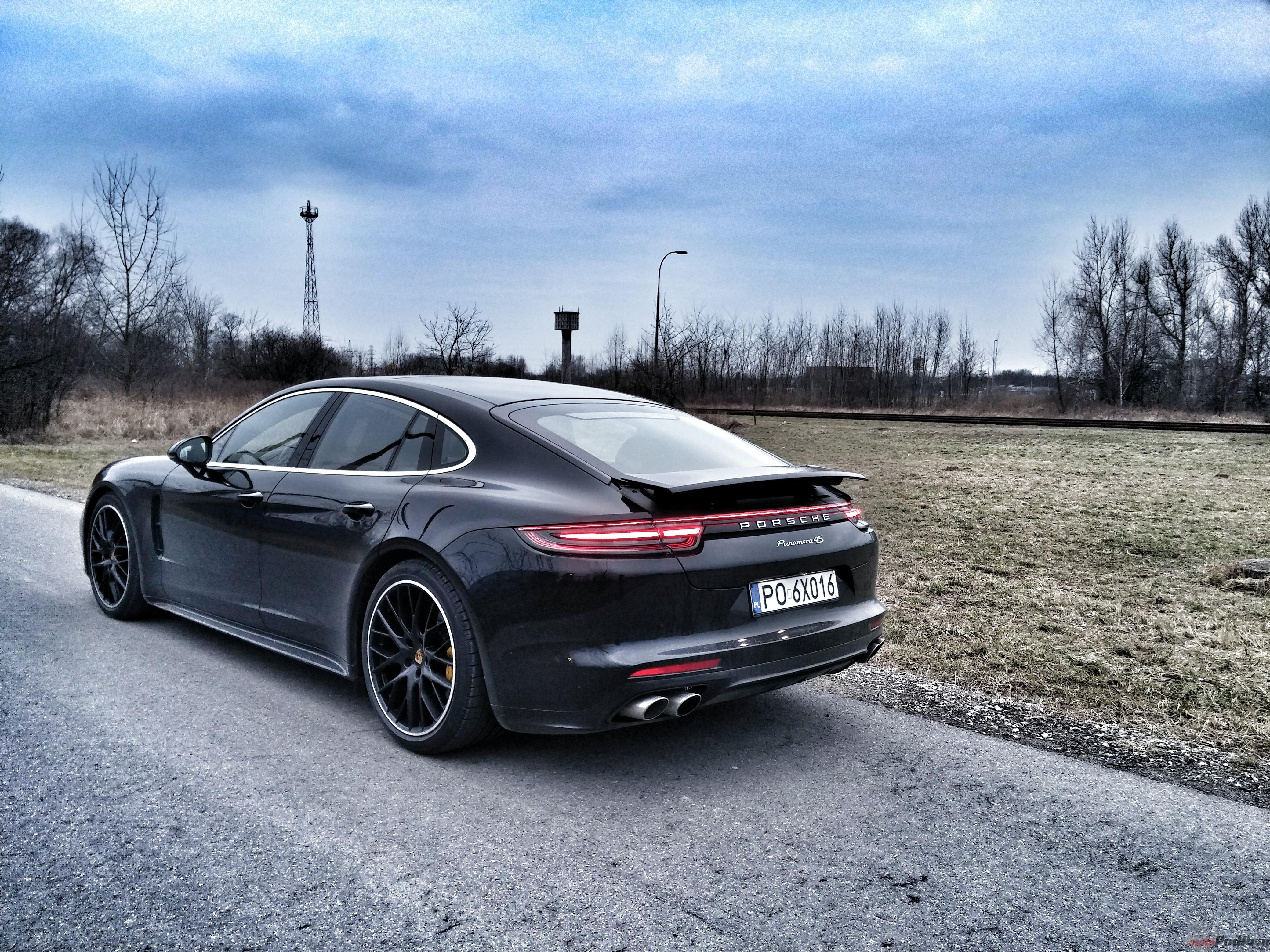 Porsche Panamera 4S Diesel 9 5 minut z   Porsche Panamera 4S Diesel