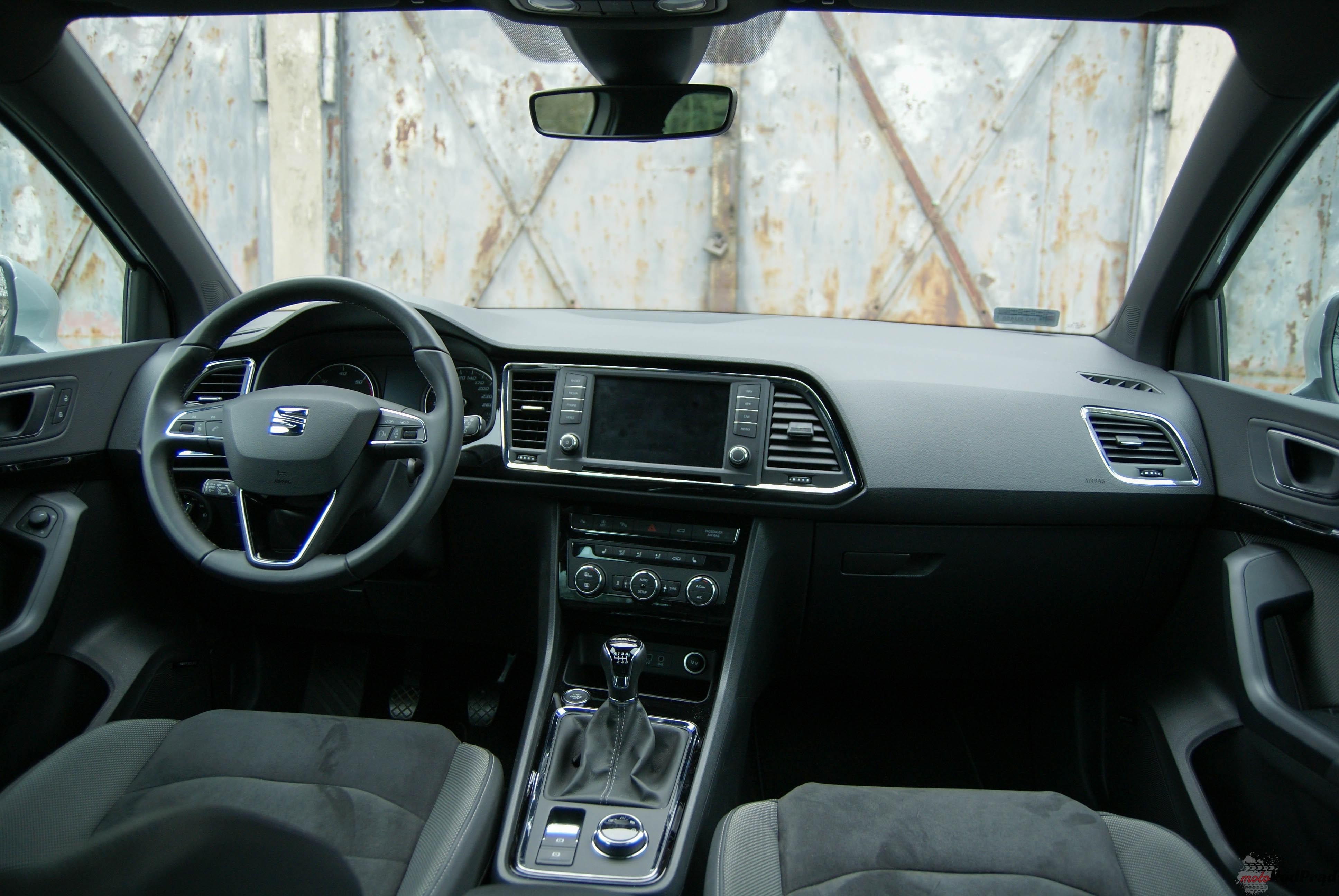 Seat Ateca 12 Test: Seat Ateca 2.0 TDI 150 KM   nowy w rodzinie