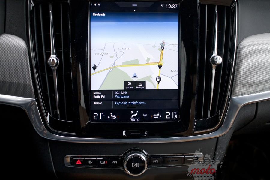 Volvo V90 10 Test: Volvo V90 T6 AWD Inscritpion – być jak gwiazda rocka