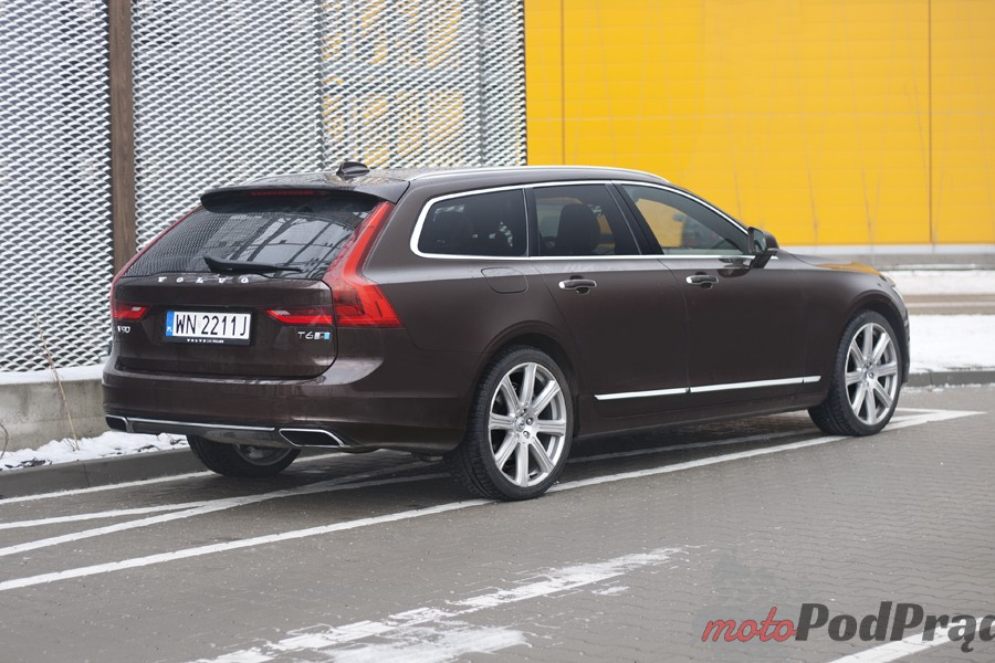 Volvo V90 2 Test: Volvo V90 T6 AWD Inscritpion – być jak gwiazda rocka