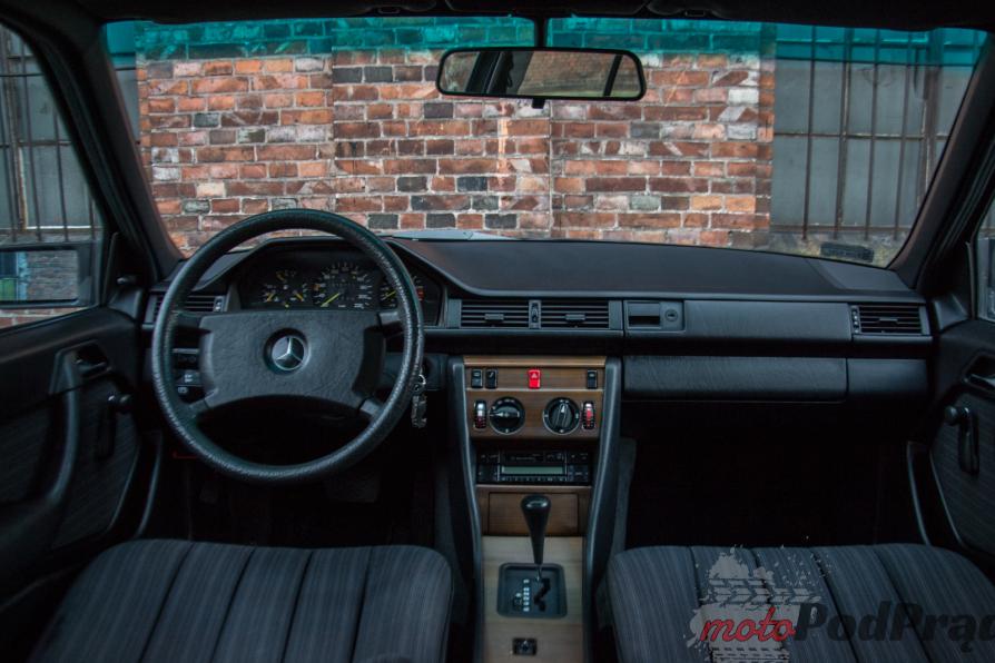 W124 14 Test: 1988 Mercedes Benz W124   nie do zajechania