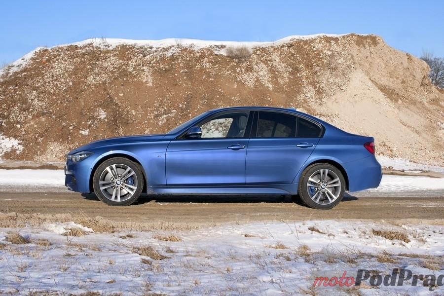 bmw 330 profil Test: BMW 330xi. Nie z wieszaka.