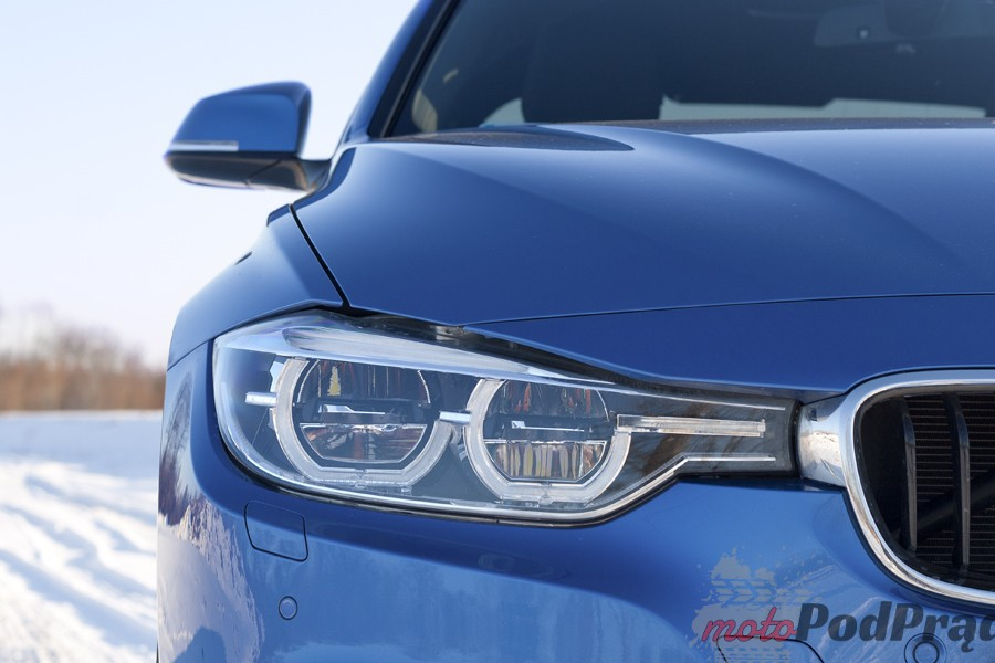 reflektor bmw 330 Test: BMW 330xi. Nie z wieszaka.