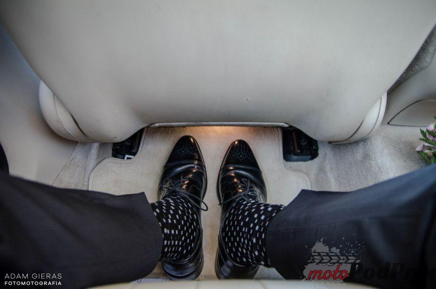 slub 4 Test: Mercedes Benz E220d 9G Tronic   z perspektywy tylnej kanapy
