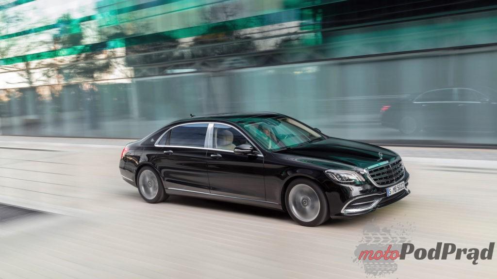 2018 mercedes maybach s class 1024x576 Nowa twarz, silniki i porcja technologii w klasie S
