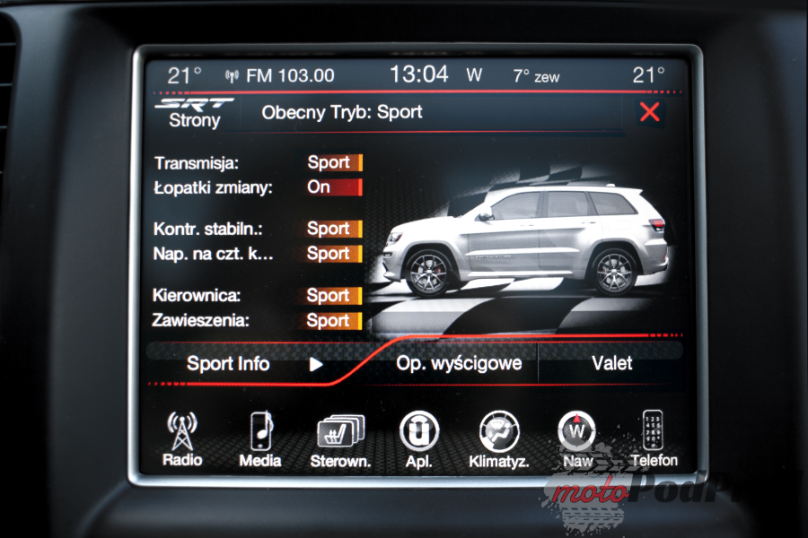 16 Test: Jeep Grand Cherokee SRT. Po męsku.