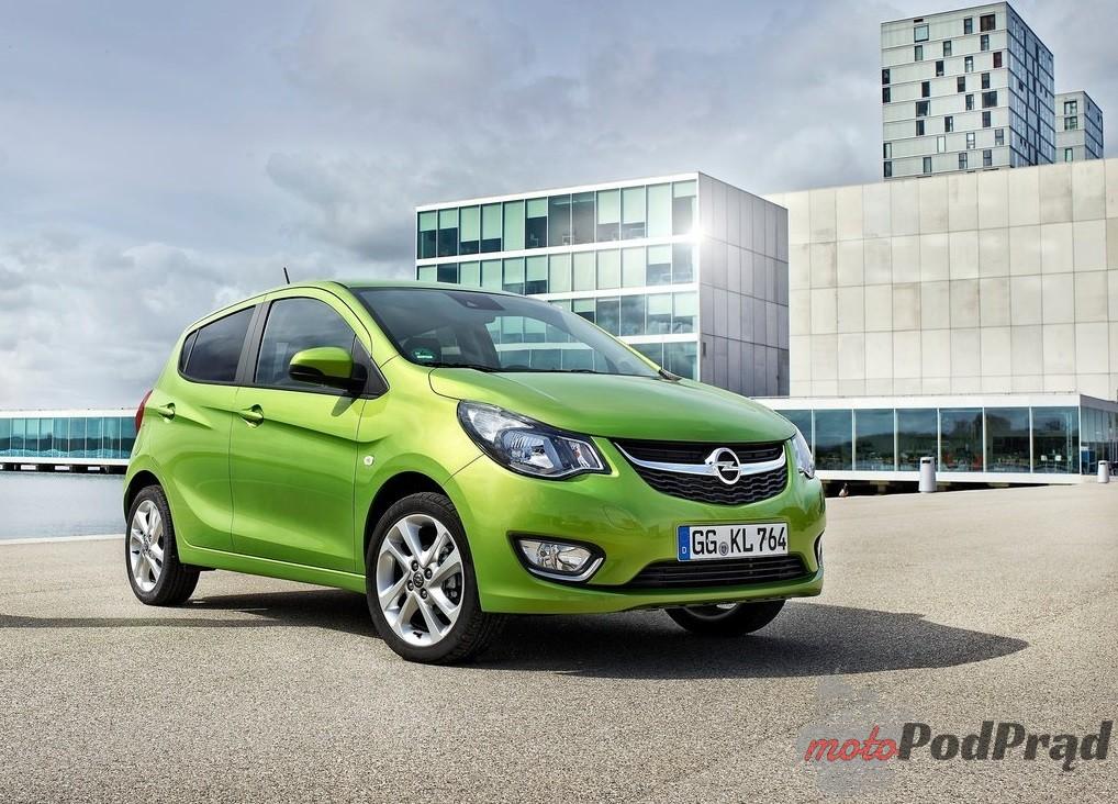 Opel Karl 2015 1024 06 Top 10: najtańsze nowe samochody osobowe w Polsce