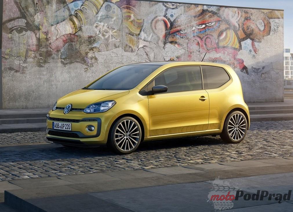 Volkswagen Up 2017 1024 05 Top 10: najtańsze nowe samochody osobowe w Polsce
