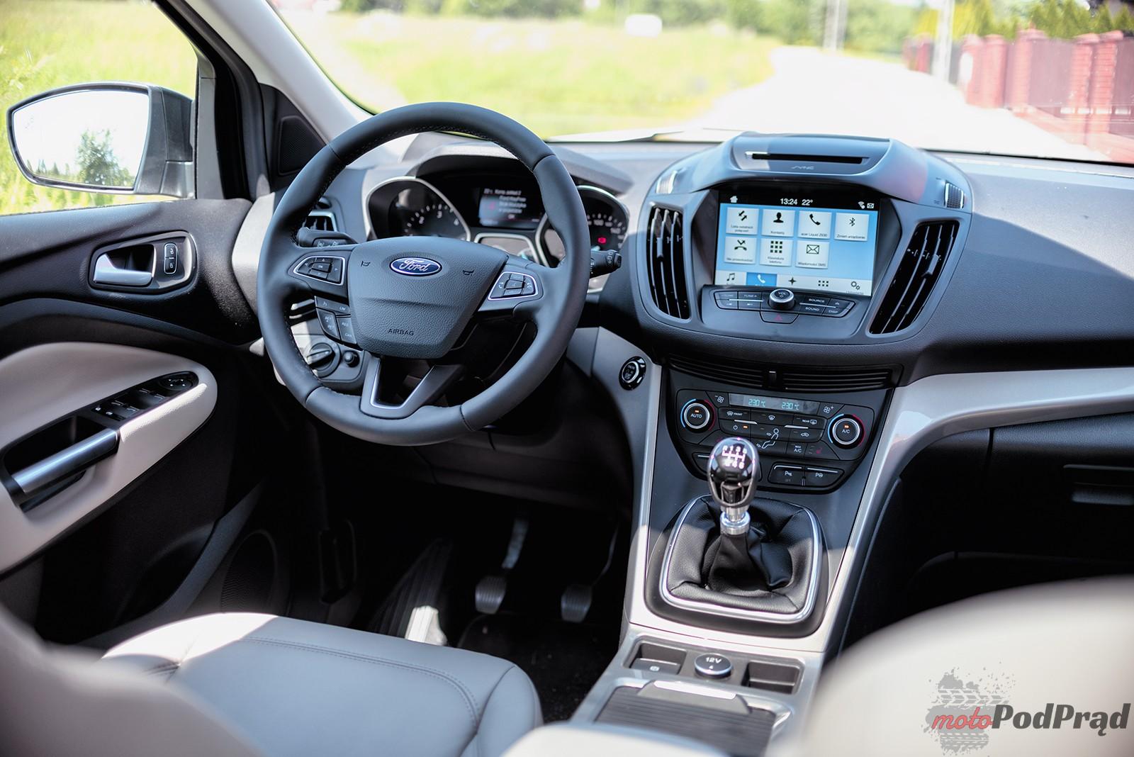 Ford Kuga 28 Test: Ford Kuga 2.0 TDCi 150 KM  dobry powrót