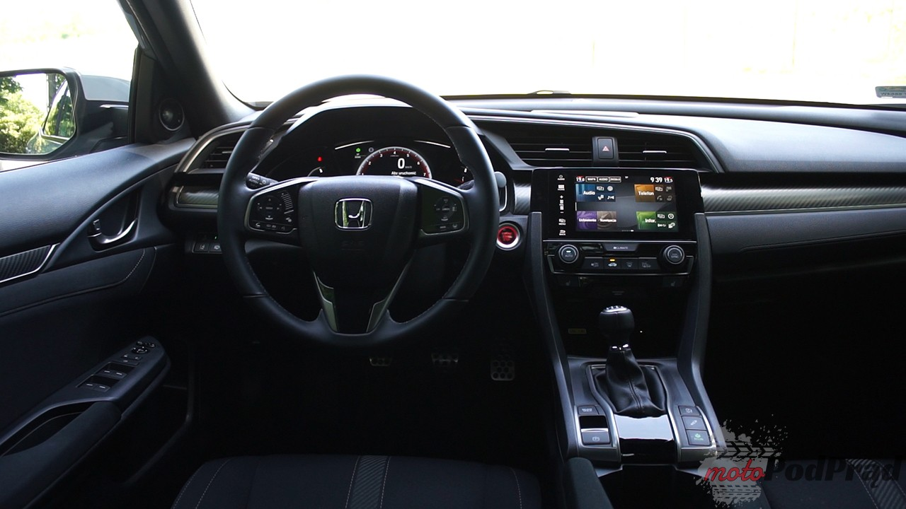Honda Civic 13 Test: Honda Civic 1,5 182 KM VTEC   to kiedy lecimy na Marsa?