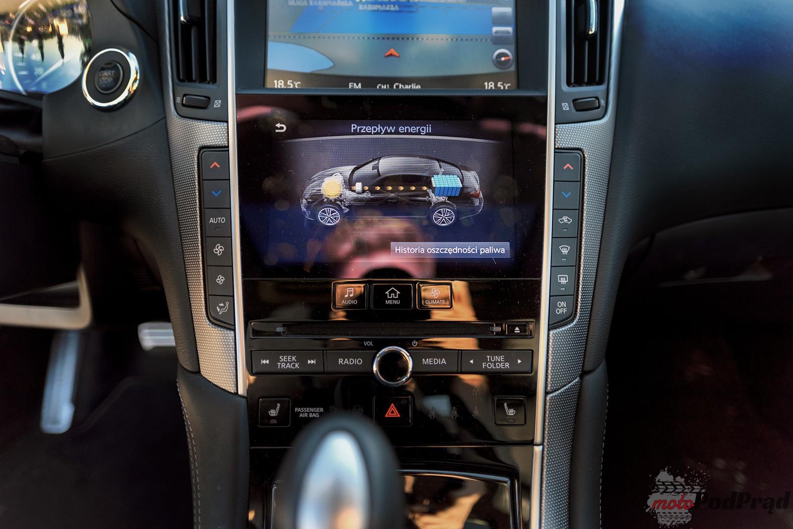 Infiniti Q50 17 Test: Infiniti Q50 S Hybrid   nie tylko Europa