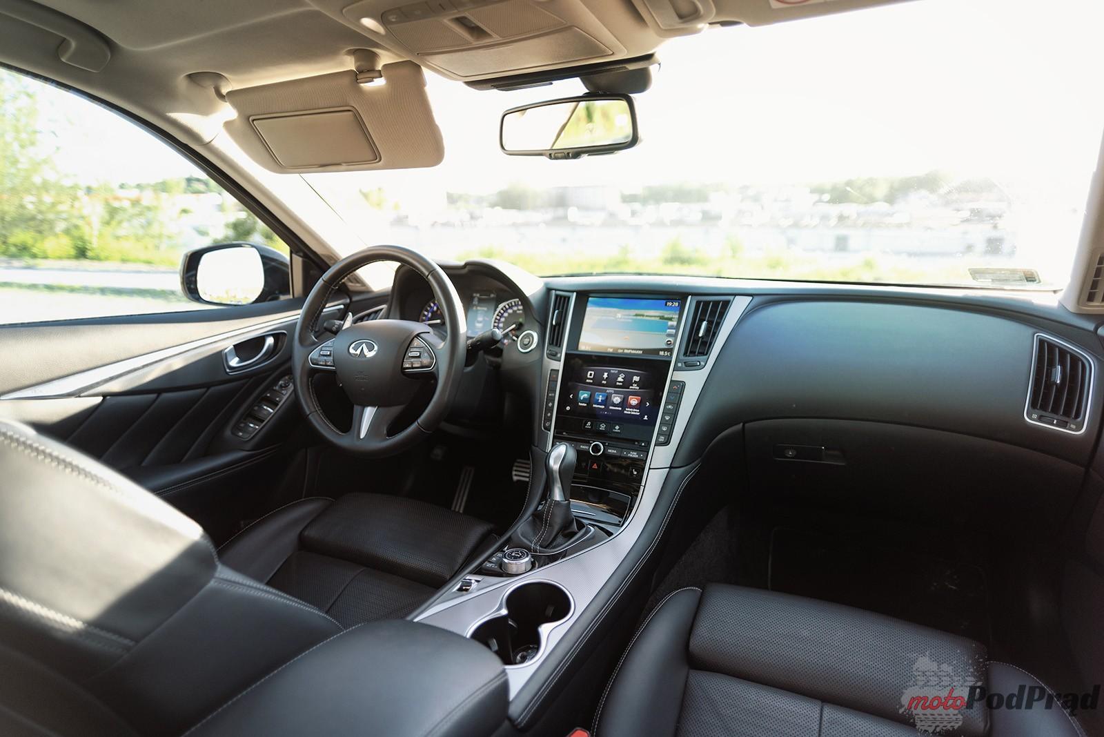 Infiniti Q50 21 Test: Infiniti Q50 S Hybrid   nie tylko Europa