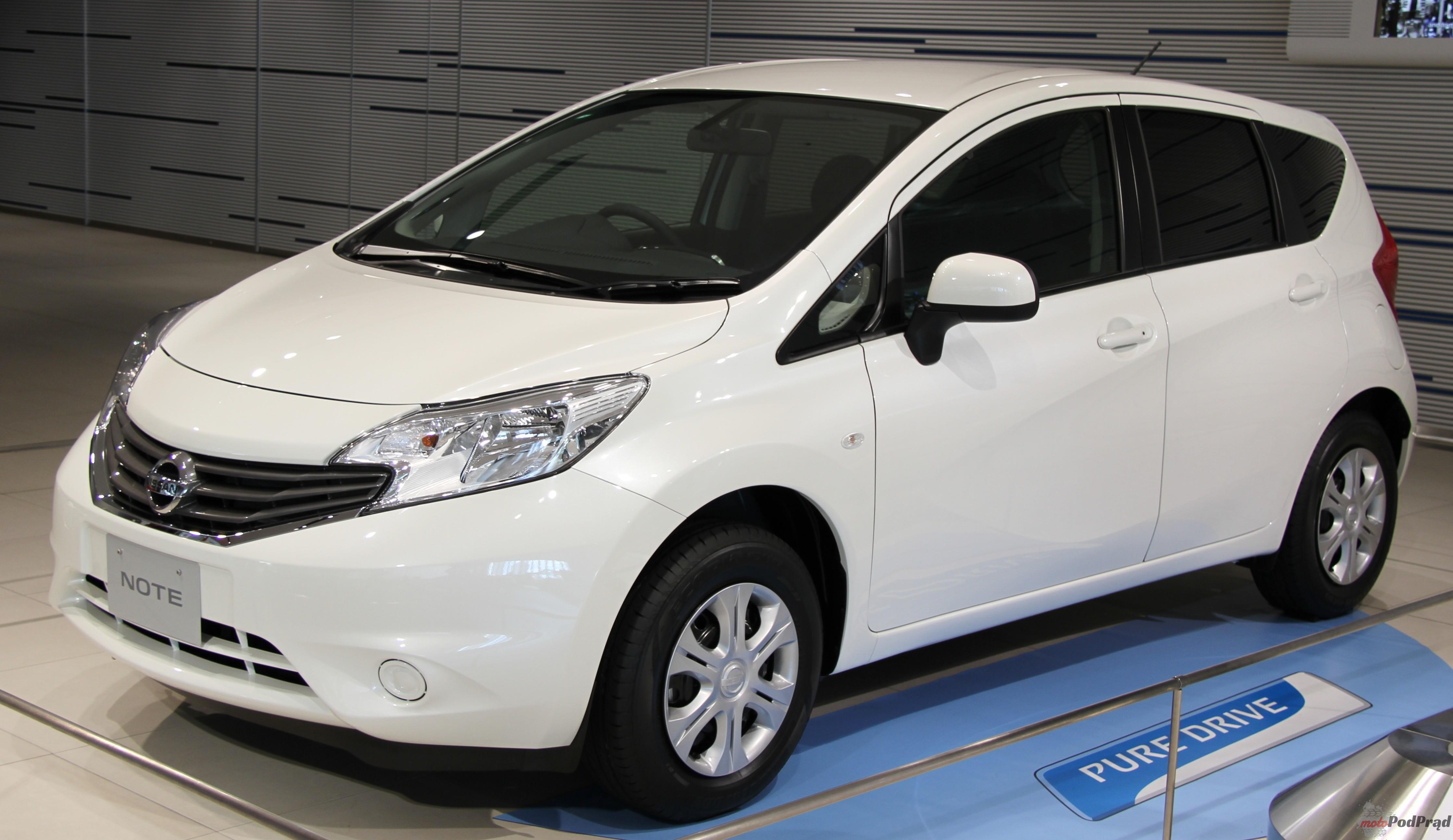 Nissan Note Najlepsze auta dla młodych rodzin