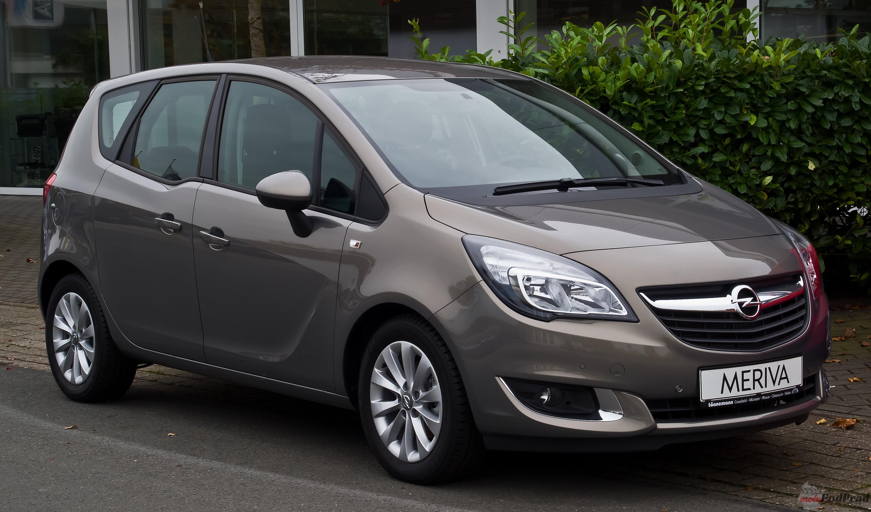 Opel Meriv Najlepsze auta dla młodych rodzin