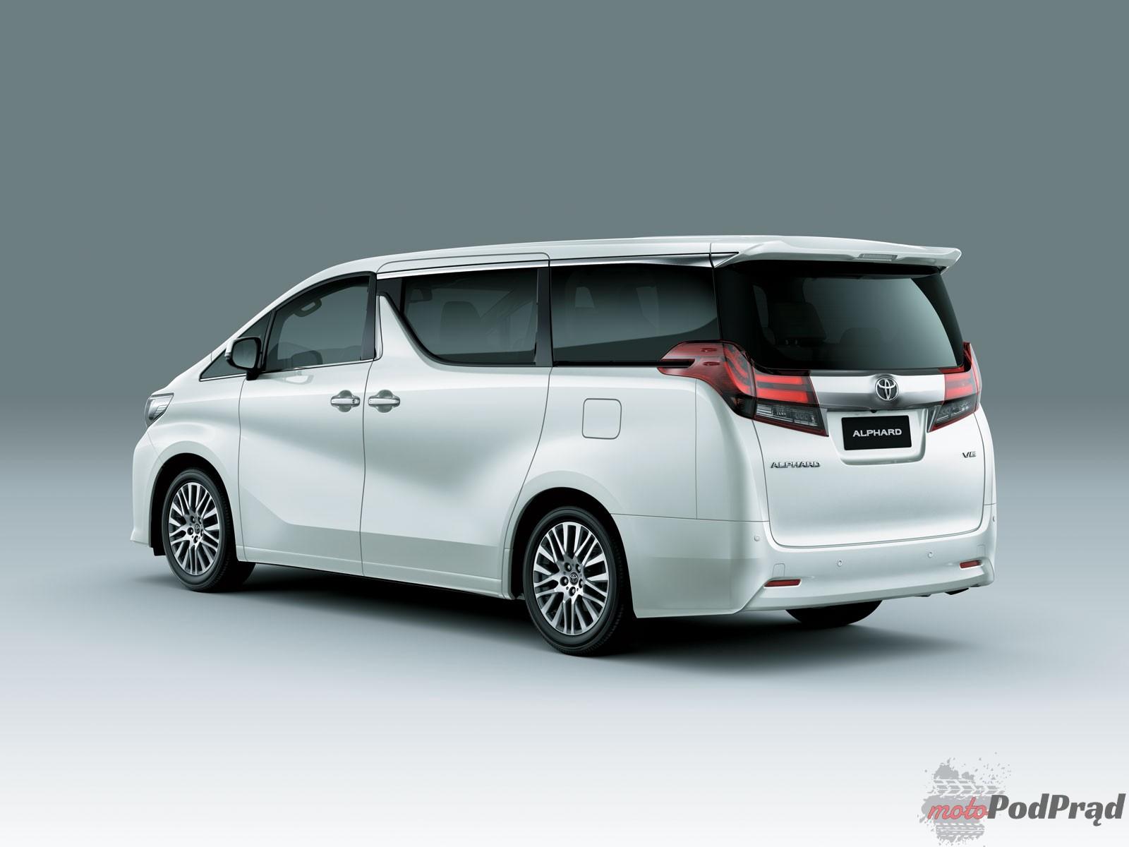 TYL Niedostępne w Polsce: Toyota Alphard. Klasa biznes.