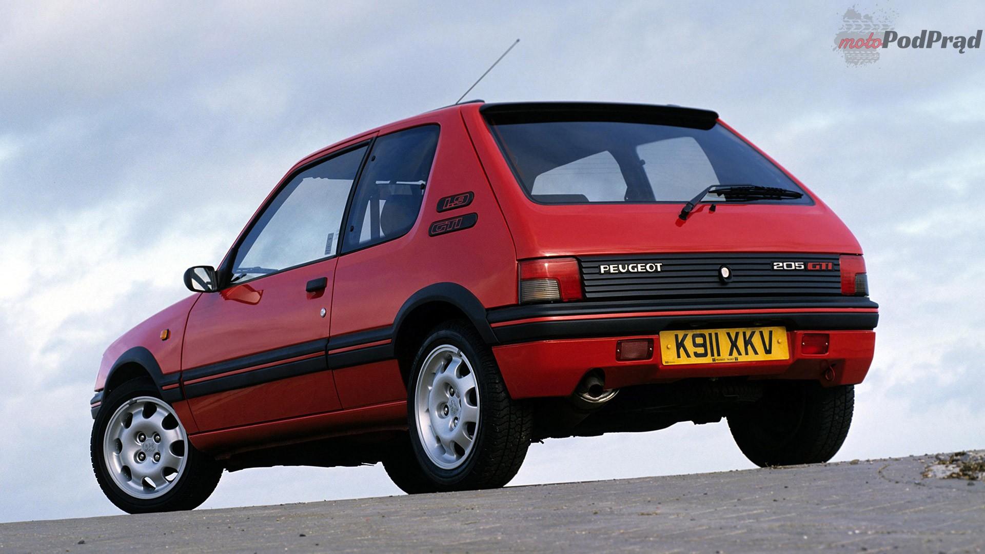 1984 Peugeot 205 GTI V9 1080 Przełomowe samochody lat 80.