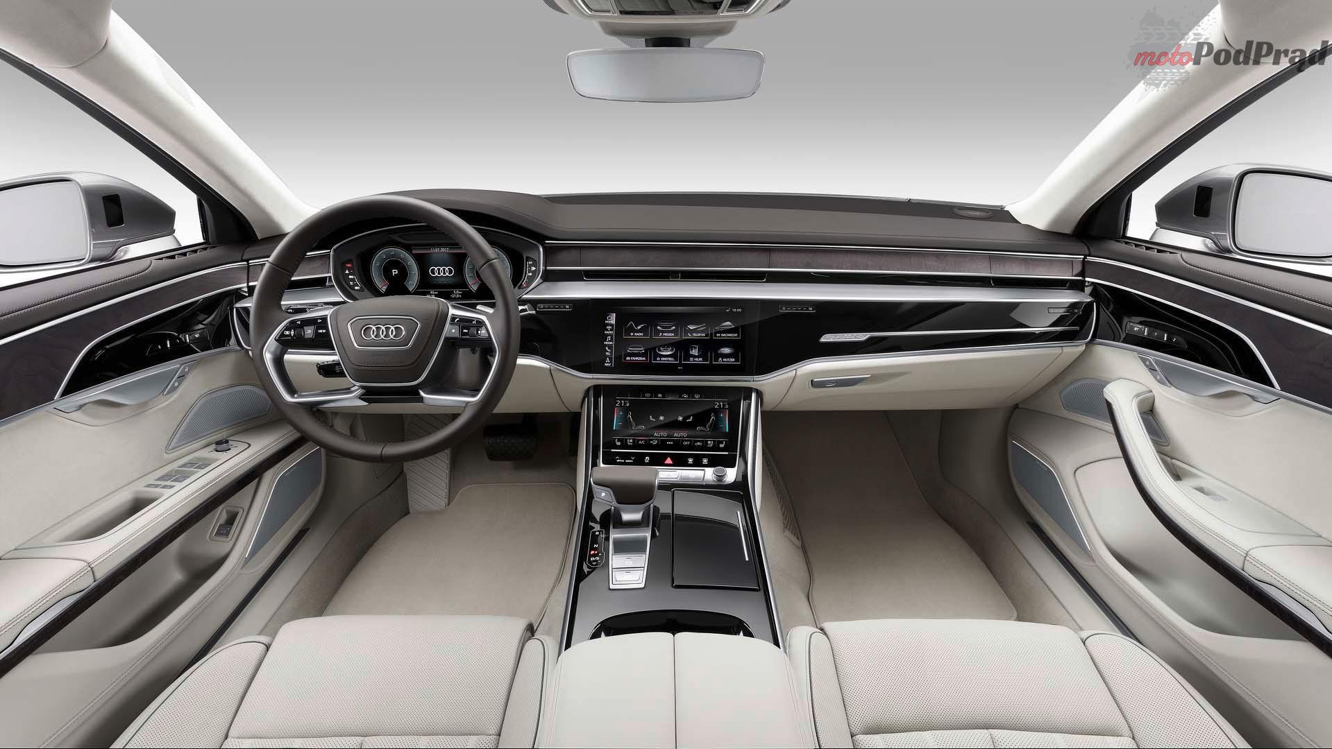 2018 audi a8 Audi A8 wyrusza na podbój klasy wyższej