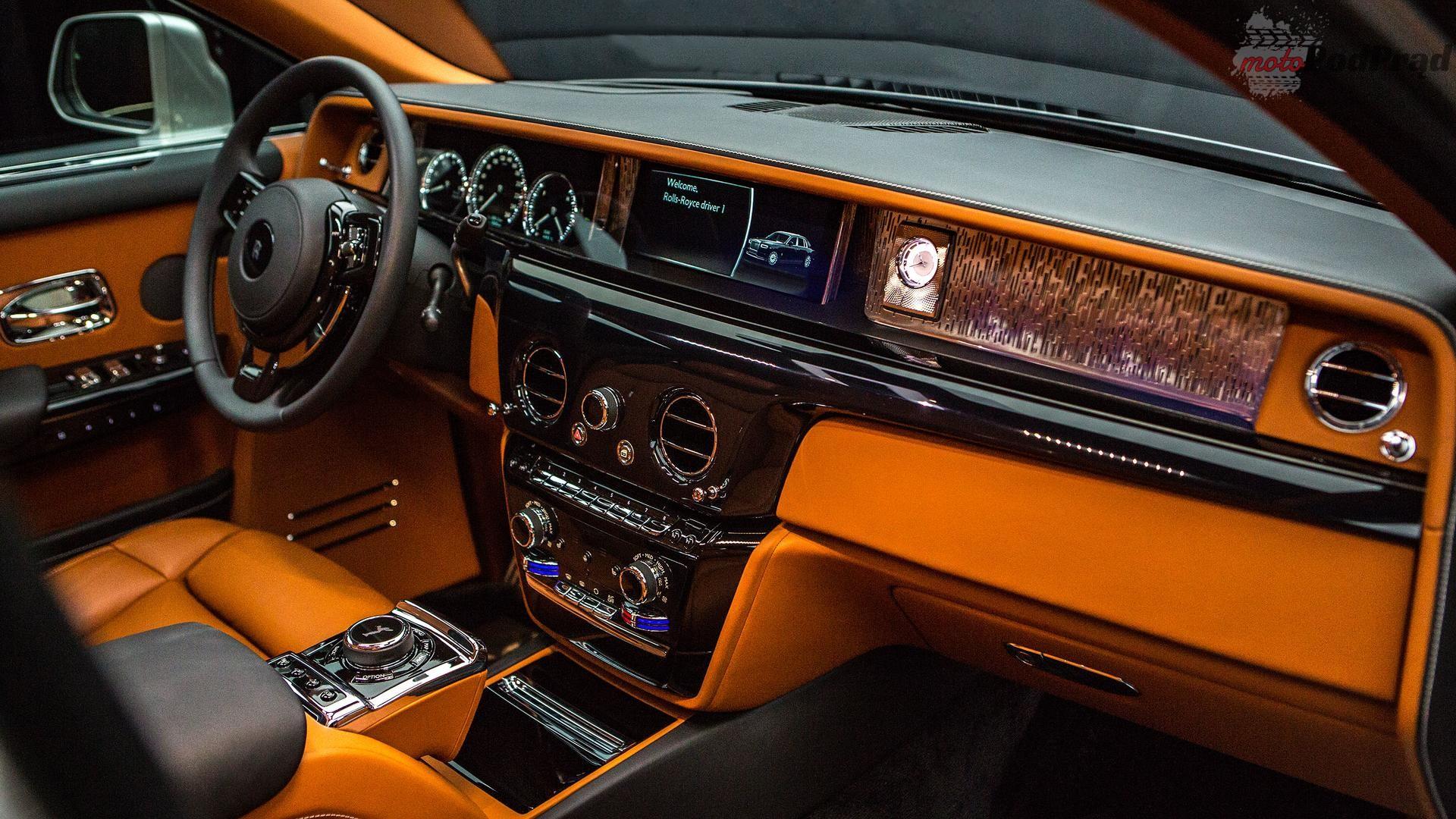 2018 rolls royce phantom Rolls Royce Phantom: czysta dominacja