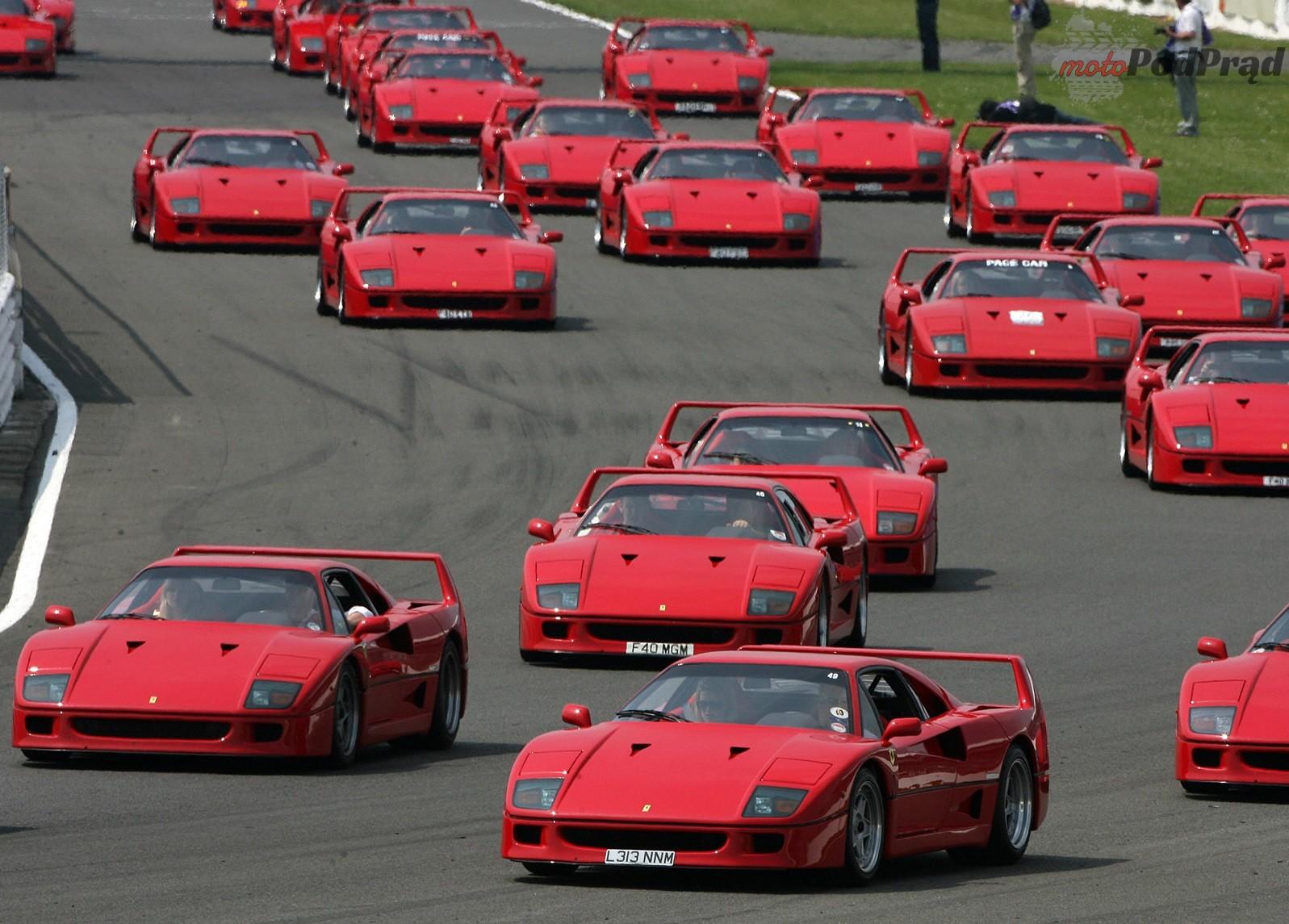 Ferrari F40 1987 1600 31 Przełomowe samochody lat 80.