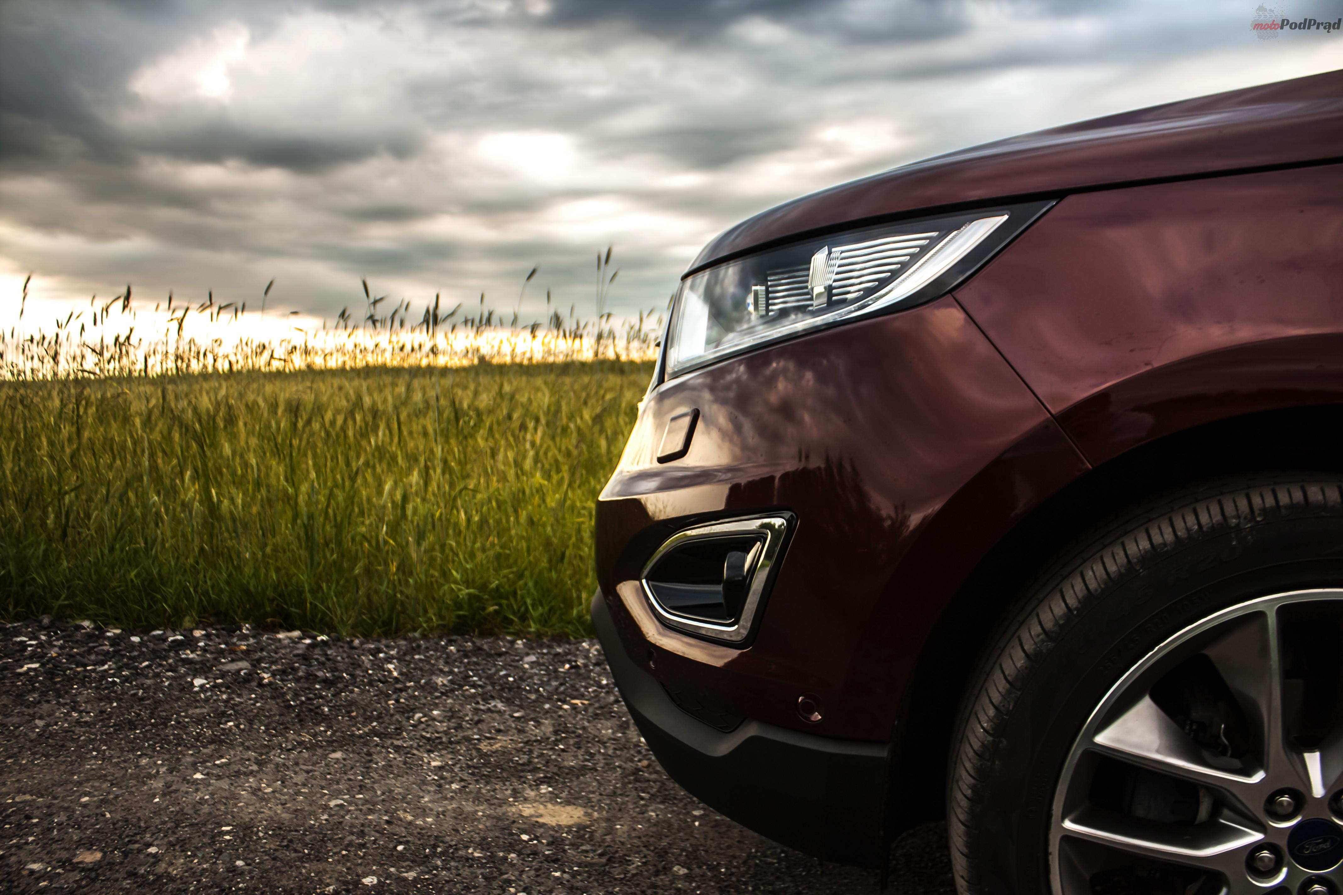 Ford Edge 12 Test: Ford Edge 2.0 TDCi   jazda na krawędzi