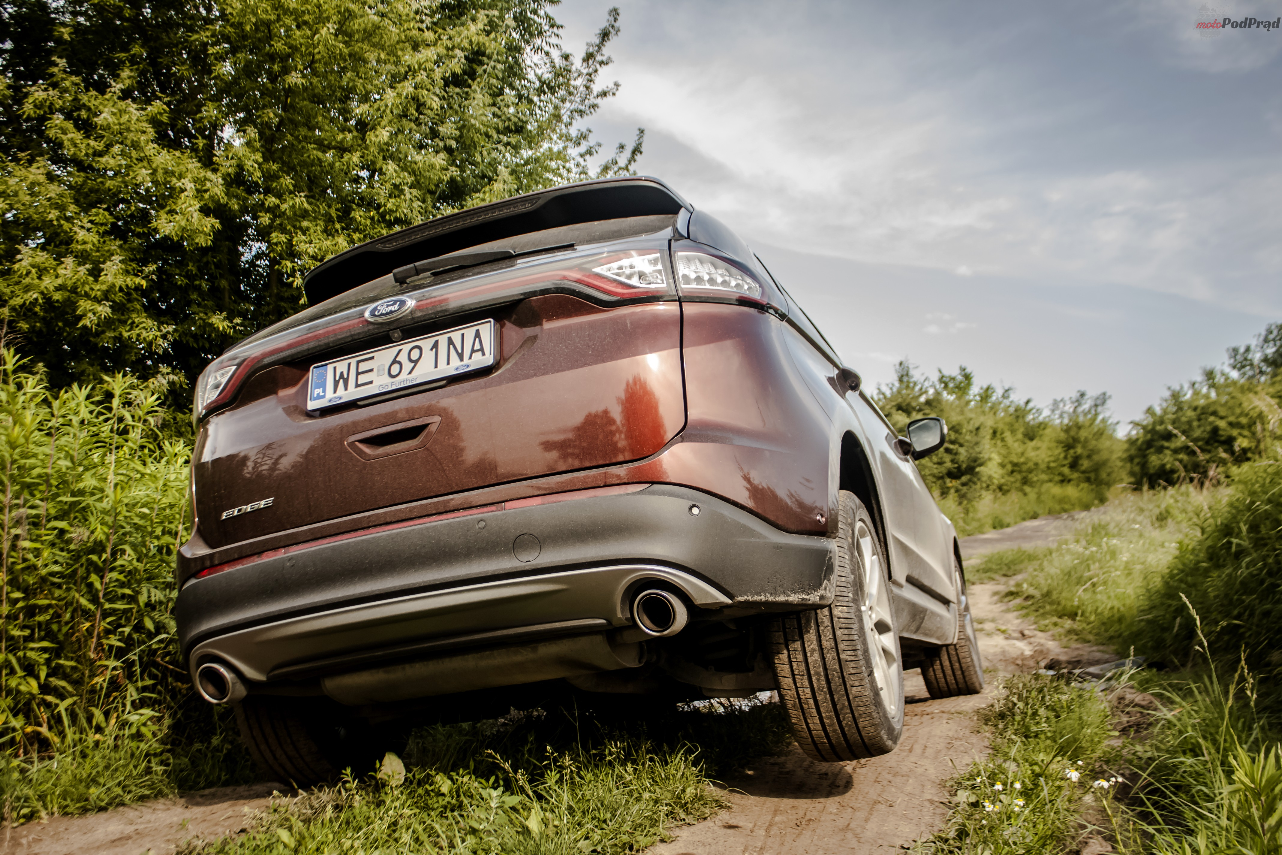 Ford Edge 16 Test: Ford Edge 2.0 TDCi   jazda na krawędzi