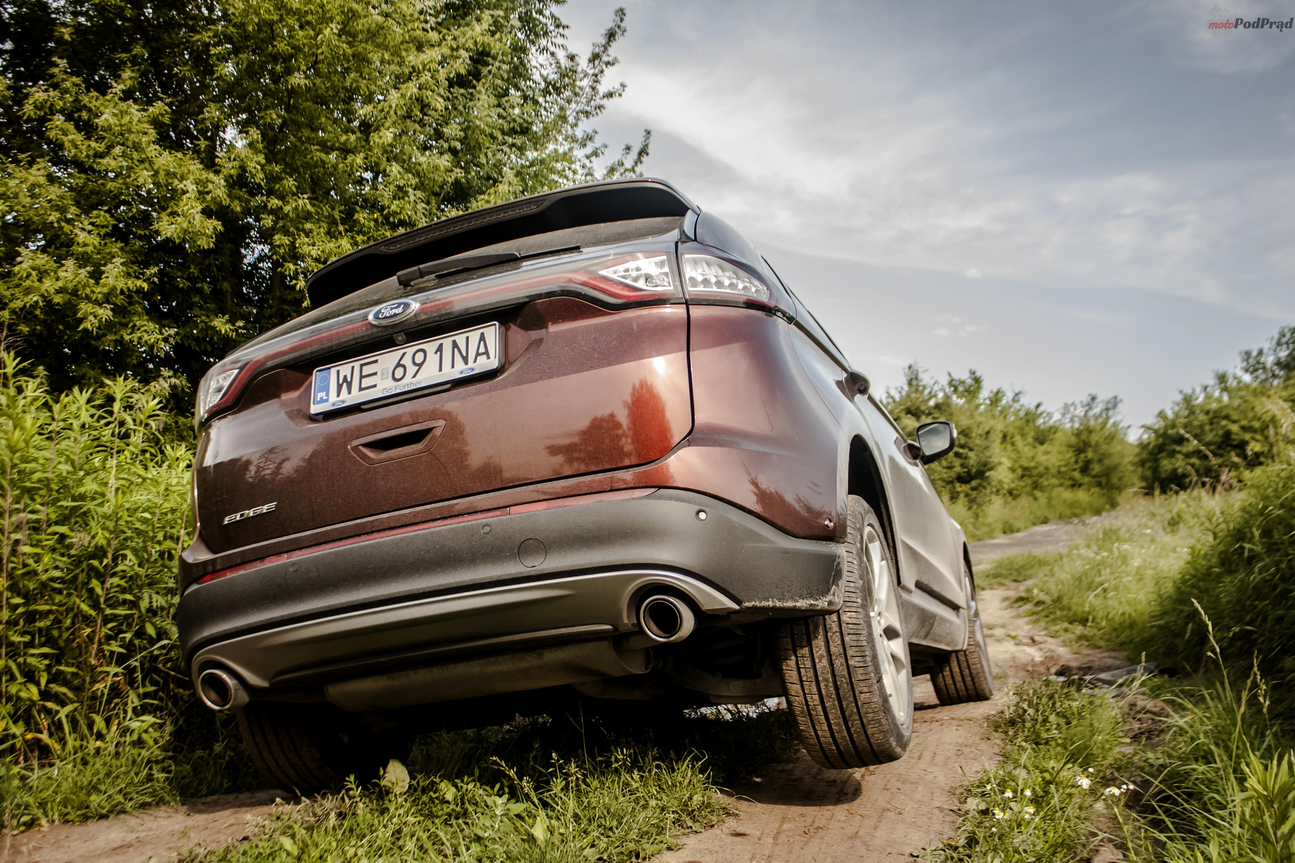 Ford Edge 16 Test: Ford Edge 2.0 TDCi   jazda na krawędzi