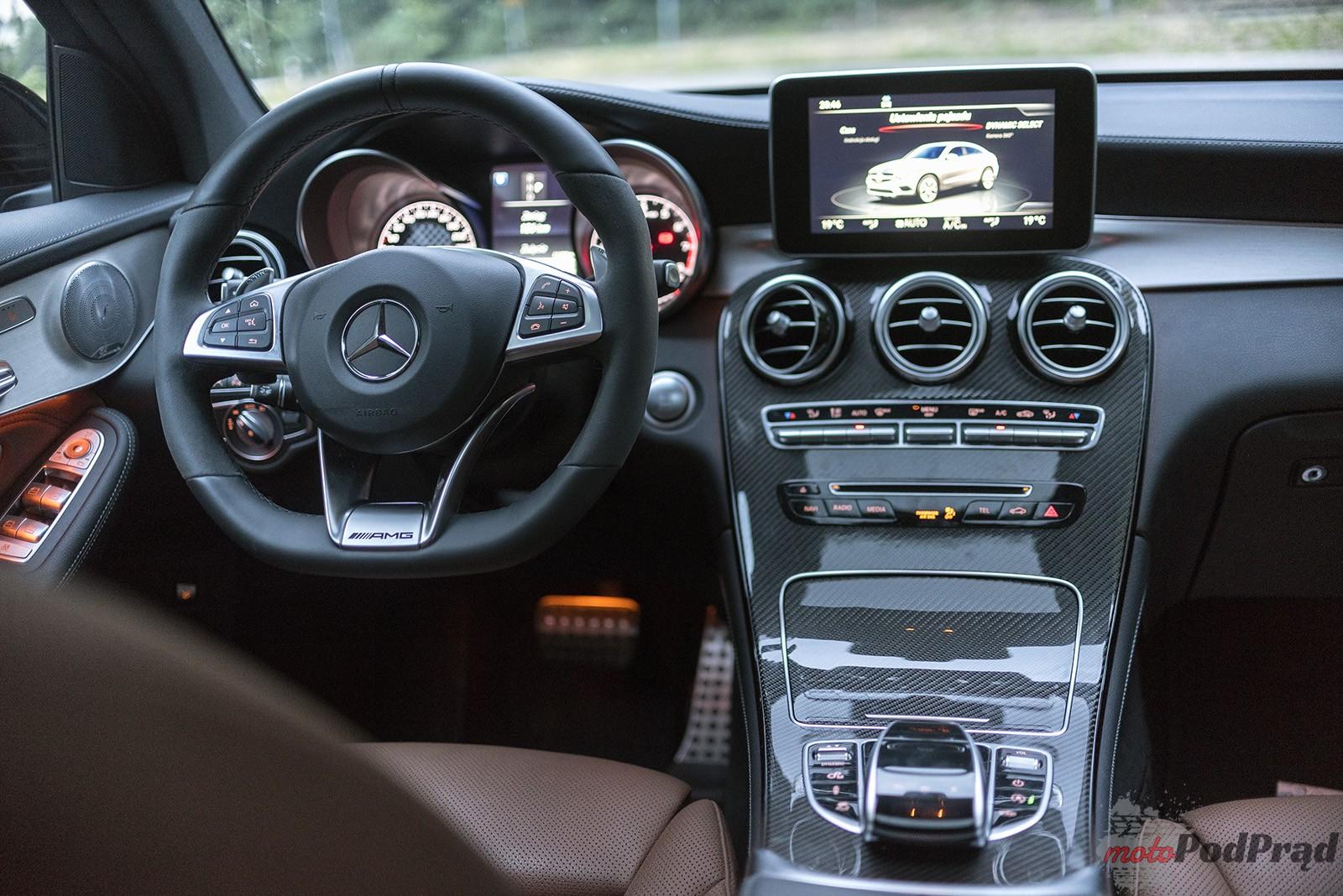 Mercedes AMG GLC43 2 Test: Mercedes AMG GLC 43 Coupe   jak ruszyć głaz