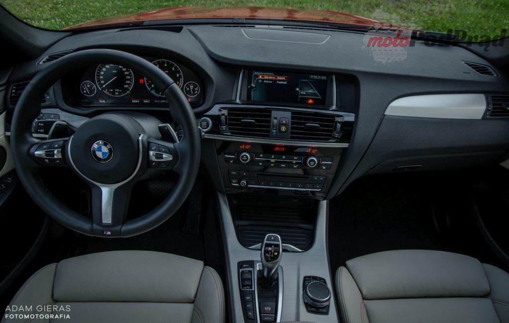 bmw x4 25 1024x651 Minitest: BMW X4 M40i   SUV z osiągami mocarnego hot hatcha