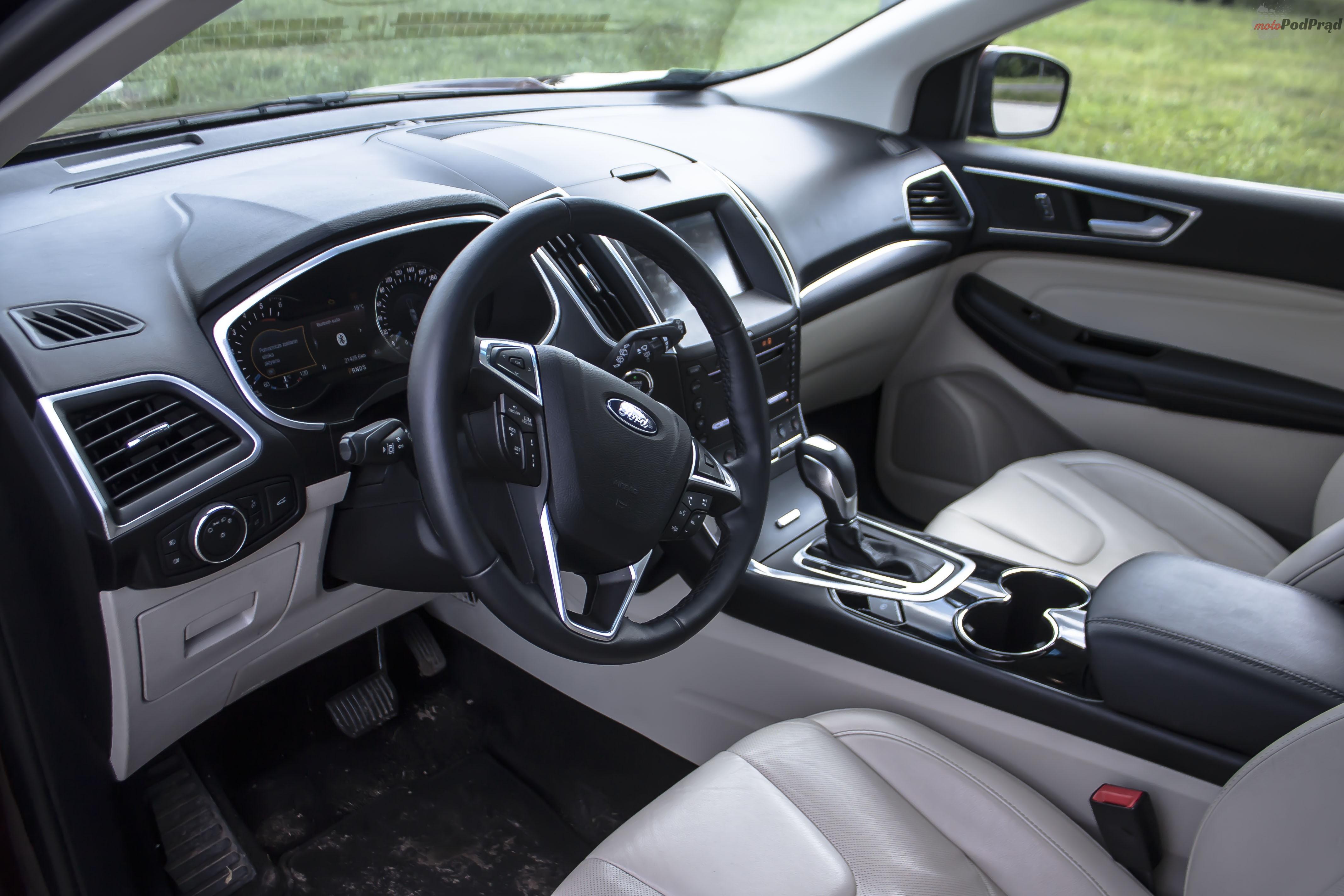ford edge 17 Test: Ford Edge 2.0 TDCi   jazda na krawędzi