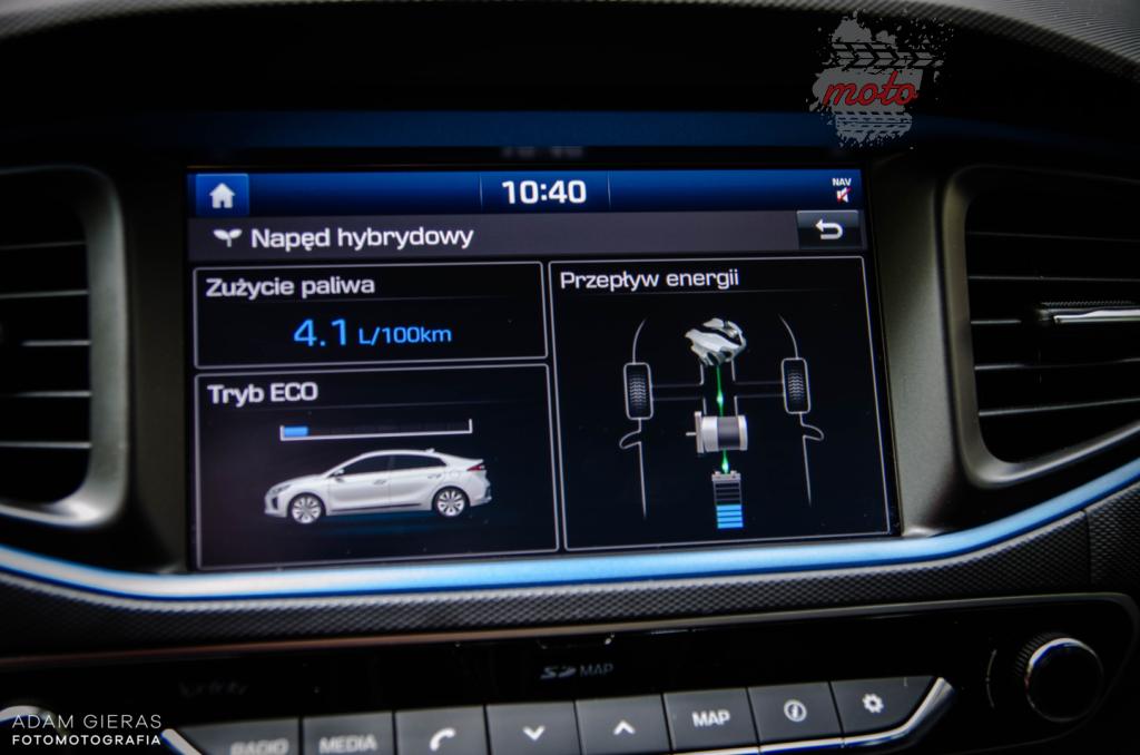 hyundai ioniq 11 1024x678 Test: Hyundai Ioniq Hybrid Premium   im dalej w las tym fajniej!