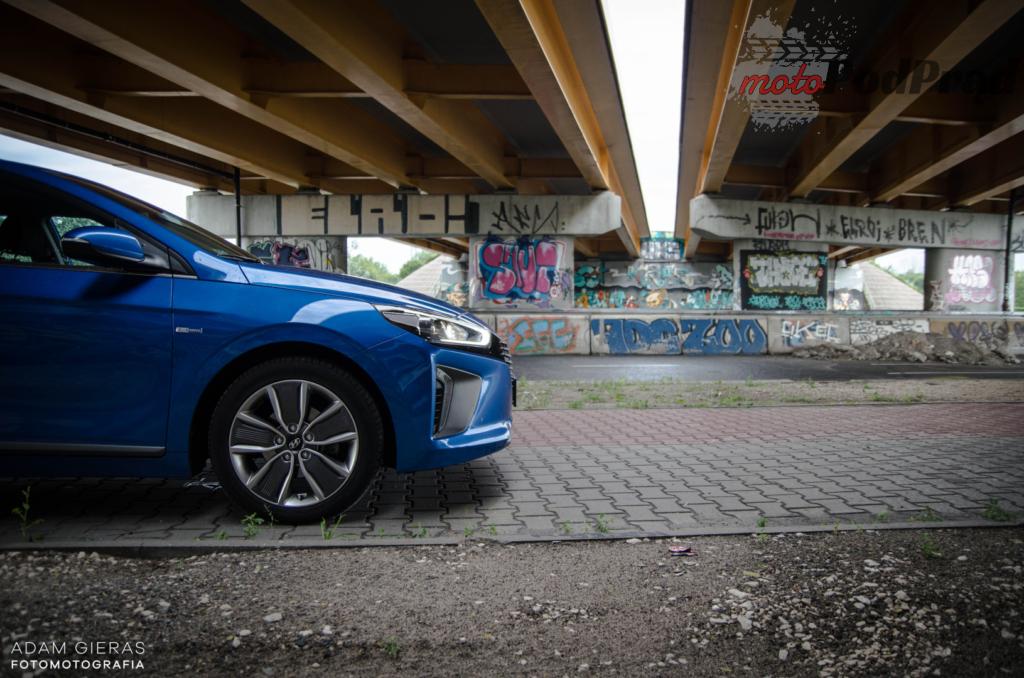 hyundai ioniq 8 1024x678 Test: Hyundai Ioniq Hybrid Premium   im dalej w las tym fajniej!